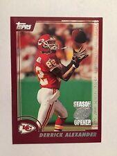 2000 Topps Season Opener #123 - Derrick Alexander - Kansas City Chiefs