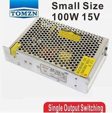 100W 15V salida de volumen pequeño único Switching Power Supply