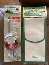 Clover MCI-900 Mini Iron & Cooling Tote Bag New Sealed