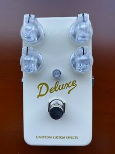 Lovepedal Brownface Deluxe Overdrive Pedal - Excellent!