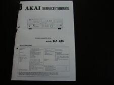 Original Service Manual Schaltplan AKAI GX-R35