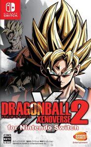 Dragon Ball: Xenoverse 2 Nintendo Switch Japan Version