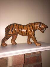 Collectible Display Zoo Animal Stripe Bengal Tiger Lifelike 8 Tall 16 Wide 💜