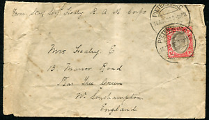 TRANSVAAL (25664): Boer War R.A. M Corps cover