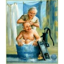 Full 5D Drill Diamond Painting Embroidery Old Couple Embroidery Decoration