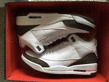 best cheap 96886 4f051 Air Jordan 3 Retro White Dark Mocha Chrome Brand New Size 9