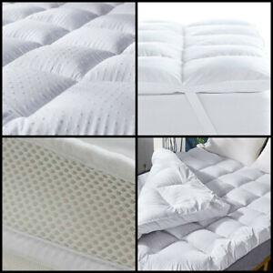 Microfiber Mattress Topper Ultra Soft Air Flow Mattress Luxury Hotel Quality 3D