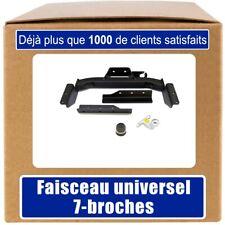 faisceau 7 broches VW Transporter T4 fourgon 1996//2003 Attelage rigide fixe