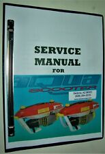 Aquascooter, Latest 2020 Repair Service Manual For Models As-400 Through As-650