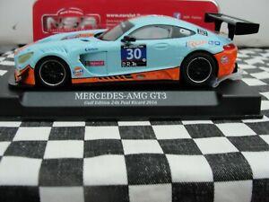 NSR MERCEDES AMG GT3  GULF EDITION  #30  0153AW 1:32 SLOT BNIB LATEST OUT