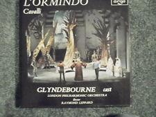 ZNF 8-10 Cavalli L´Ormindo LEPPARD GLYNDEBOURNE CAST ARGO UK 3 LP NM