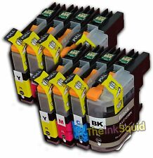 8 LC123 Ink Cartridge For Brother Printer DCP-J132W DCP-J152W DCP-J552DW non-OEM