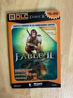 Fable 2 DLC BradyGames Strategy Guide RARE HTF