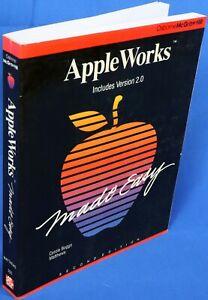 Apple II IIe IIc IIgs AppleWorks Made Easy Book
