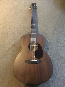 Martin 00-15M Solid Mahogany Acoustic Guitar Including Hard Case