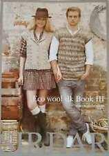 Sirdar Eco Wool DK Book III  7 designs for men and women