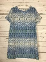 STITCH FIX Skies are Blue White Fall Party Career Dress ~ Women's Size L Large