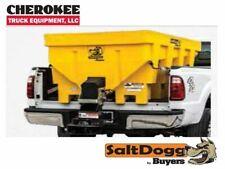 Saltdoggbuyers Products Shpe1500yel Bulk Salt 5050 Saltsand Mix Spreader Yel