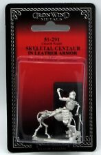 Ral Partha 51-291 Skeletal Centaur in Leather Armor (Chaos Wars) Skeleton Undead