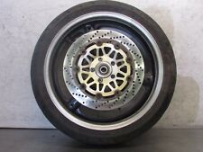 G  SUZUKI BANDIT  1200 1999 OEM   FRONT WHEEL & FRONT ROTOR (TWO)