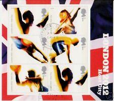 Gran BRETAGNA 2005 Londra olimpiadi 2012 foglio BELLE utilizzare