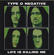 Type O Negative Life Is Killing Me RARE promo sticker '03