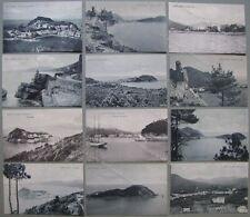 LIGURIA. SESTRI LEVANTE. GENOVA. Undici cartoline non viaggiate. Circa 1920.