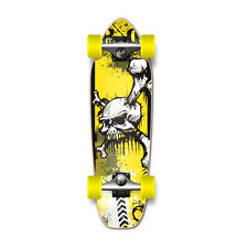 COOL YSKULL Graphic Complete Longboard Mini Cruiser