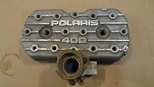 POLARIS 400 CYLINDER HEAD 86-91 WITH HEAD GASKET NO DAMAGE
