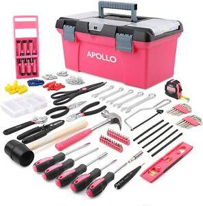 Pink Tool Box Kit present Ladies Gift cheap buy 170 pcs cheap Xmas Gift