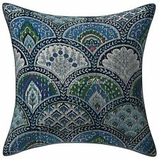 "Home Decor Sofa Cushion Cover Rainbow Printed Indian Pillowcase 16"" Throw"