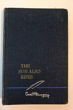 THE SUN ALSO RISES - ERNEST HEMINGWAY - 1954
