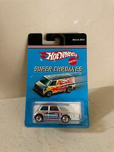 Hot Wheels Mattel Super Chromes Morris Mini MT14