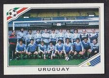 Panini - Mexico 86 World Cup - # 311 Uruguay Team Group