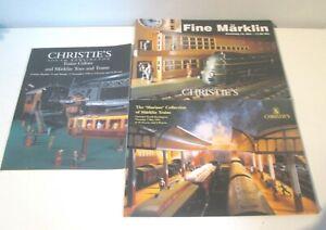 3 Auction  Auction Catalogue Marklin Trains Christies