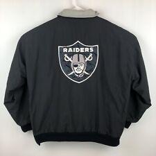 Vintage 90's Starter NFL Oakland Raiders Puffer Jacket Men's Size Large