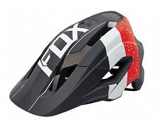 Fox Metah Kroma Mountain Bike Mtb Enduro Bicycle Helmet Red/Blk Size L/XL New
