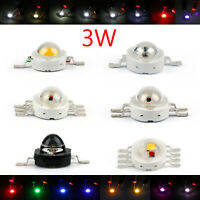 New 3W LED RGB Infra Bead Lamp Diode High Power Chip Light Multi-Color AT5