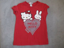 T SHIRT    fille  HELLO KITTY  taille   4/5 ANS