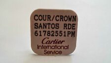 Cartier watch parts Cartier Crown Santos 61782551 short stem PM Red Ruby