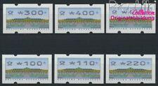 BRD ATM2.2.3, Satz komplett postfrisch 1993 Automatenmarke (8867482