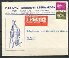 GEILL.  EXPRESCOUVERT 'WILD, GEVOGELTE'195? MET 5 + 40 CT. EN FACE-DE BILT Zv492