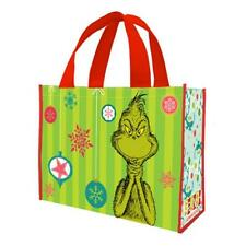 DR SEUSS - GRINCH - REUSABLE SHOPPING TOTE / GIFT BAG - CHRISTMAS 17373