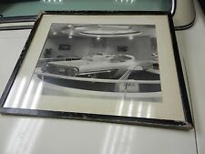 "1958 RARE 20""X16"" LA-GALAXIE CONCEPT CAR PHOTO ON ART BOARD"