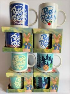 PETER RABBIT CERAMIC MUGS - 4 TO CHOOSE FROM - BOXED - NEW -EASTER GIFT LICENCED
