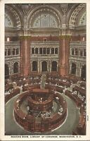 Washington, DC - Library of Congress - Reading Room - ARCHITECTURE