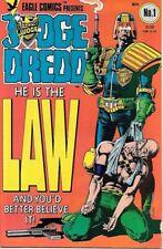 Judge Dredd Comic Book #1 Eagle Comics 1983 FINE+ NEW UNREAD
