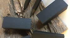 "10 x Radiergummi ""BLACK box"" schwarz pur Radierer Radiergummis 4 cm lang"