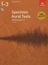 Specimen Aural Tests Grades 1-3 With 2 CDs From 2011 by ABRSM 9781848492561