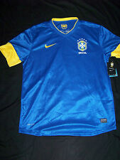 Nike Men's Brazil Soccer Training Top NWT Large